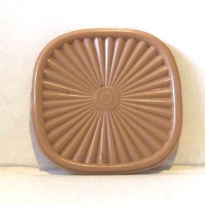 Tupperware Vintage Pink Canister Lid Magnet